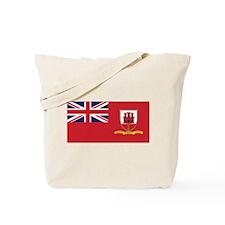 Gibraltar Civil Ensign Tote Bag
