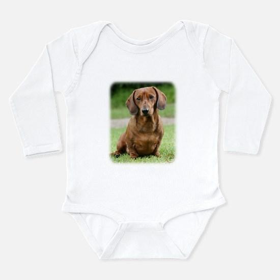 Dachshund 9Y151D-281_2 Long Sleeve Infant Bodysuit