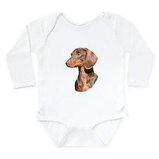 Dachshund 9Y420D-82 Long Sleeve Infant Bodysuit