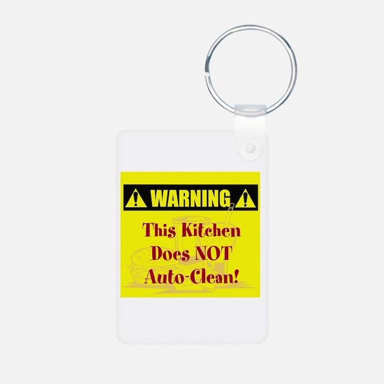 Warning: No Auto-Clean Keychains