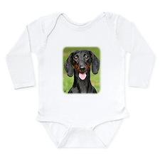 Dachshund 9Y420D-165 Long Sleeve Infant Bodysuit