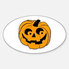Pumpie the Pumpkin Sticker (Oval)