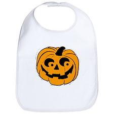 Pumpie the Pumpkin Bib