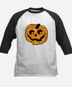 Pumpie the Pumpkin Kids Baseball Jersey