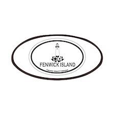Fenwick Island DE - Oval Design Patches