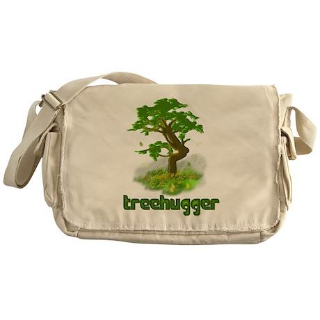 Tree Treehugger Messenger Bag