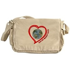 Love Our Mother Earth Messenger Bag