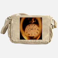 Reflection in Time Messenger Bag