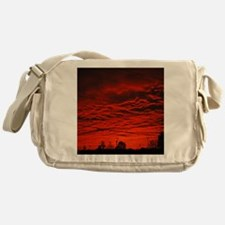Delta Fiery Sunrise Messenger Bag