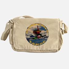 Extreme Tahoe Snowboarder Messenger Bag