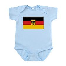 Germany State Flag Infant Creeper