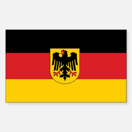 Germany State Flag Rectangle Decal