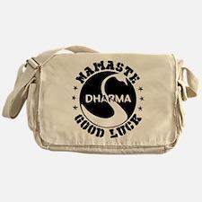 Namaste Good Luck Messenger Bag