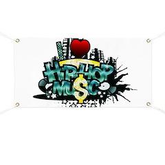 I Heart Hip Hop Music Banner