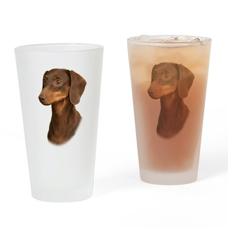 Dachshund 9Y420D-379 Drinking Glass