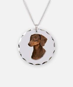 Dachshund 9Y420D-379 Necklace