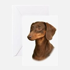 Dachshund 9Y420D-379 Greeting Card