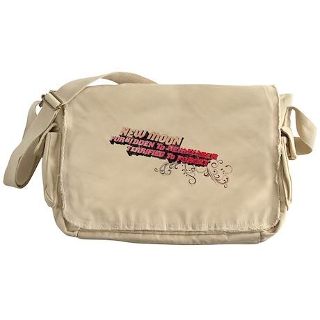 Ornamental New Moon Messenger Bag