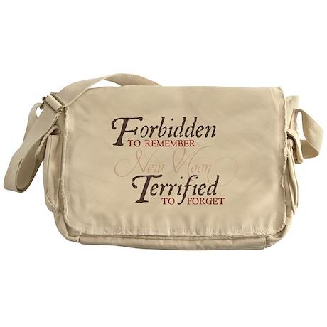 Forbidden to Remember Messenger Bag