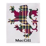 Lion - MacGill Throw Blanket