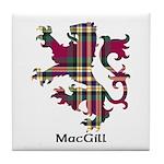 Lion - MacGill Tile Coaster