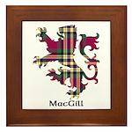 Lion - MacGill Framed Tile