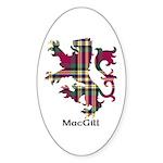 Lion - MacGill Sticker (Oval 10 pk)