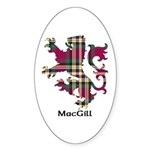 Lion - MacGill Sticker (Oval 50 pk)