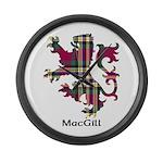 Lion - MacGill Large Wall Clock