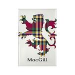 Lion - MacGill Rectangle Magnet