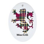 Lion - MacGill Ornament (Oval)