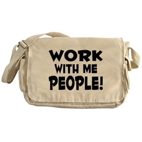 Work People Messenger Bag
