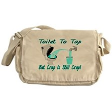 Toilet To Tap Messenger Bag