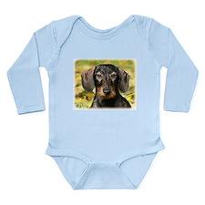 Dachshund 9Y426D-094 Long Sleeve Infant Bodysuit