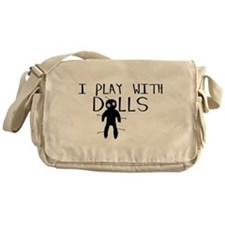 Play With Dolls Messenger Bag