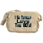 Love The 80's Messenger Bag