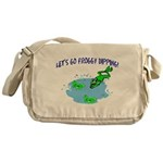 Froggy Dipping Messenger Bag