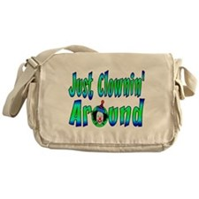 Clownin Around Messenger Bag