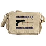 Serious Fragging Messenger Bag