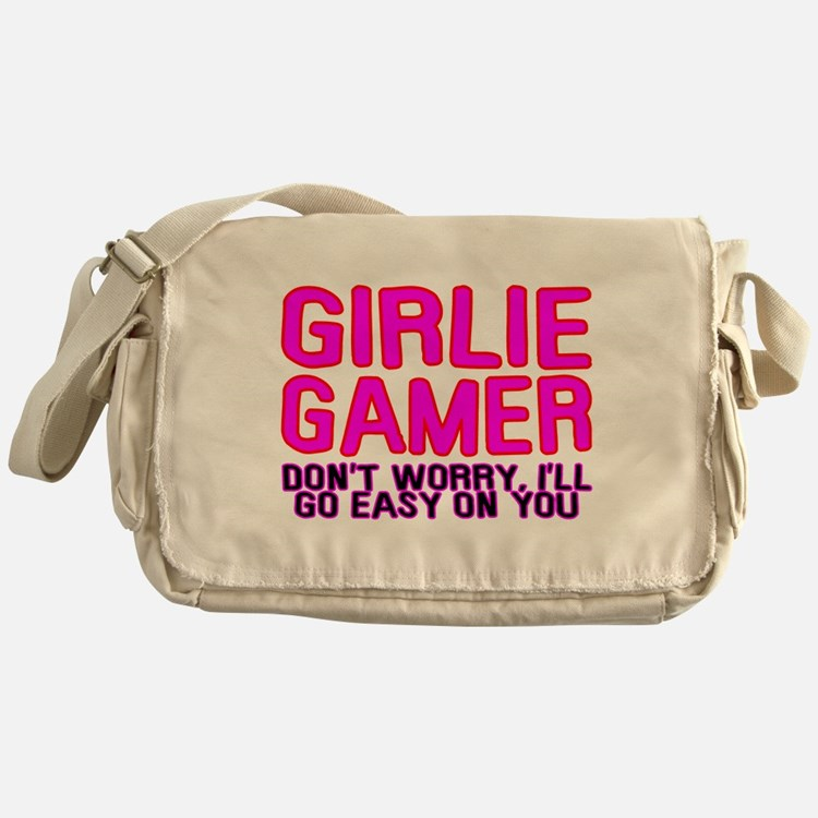 Girlie Gamer Messenger Bag