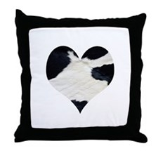 Cow Lover Throw Pillow