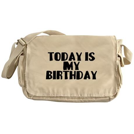 Birthday Today Messenger Bag