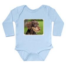 Dachshund 9Y426D-124 Long Sleeve Infant Bodysuit