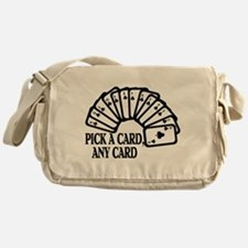 Pick A Card Messenger Bag