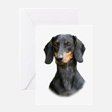 Dachshund 9Y426D-158_2 Greeting Card