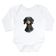 Dachshund 9Y426D-158_2 Long Sleeve Infant Bodysuit