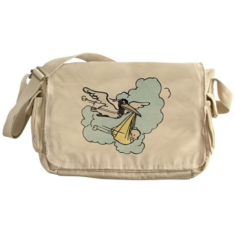 New Delivery Stork Messenger Bag