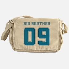 Blue Big Brother 09 Messenger Bag