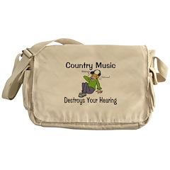 Country Music Messenger Bag