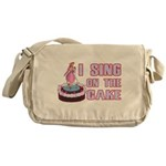 I Sing On The Cake Messenger Bag